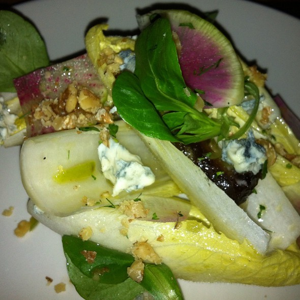 Endive, Blue Cheese & Walnut Salad - Natural Selection, Portland, OR