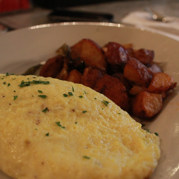 Omelette and Home Fries - Lillie's, New York, NY