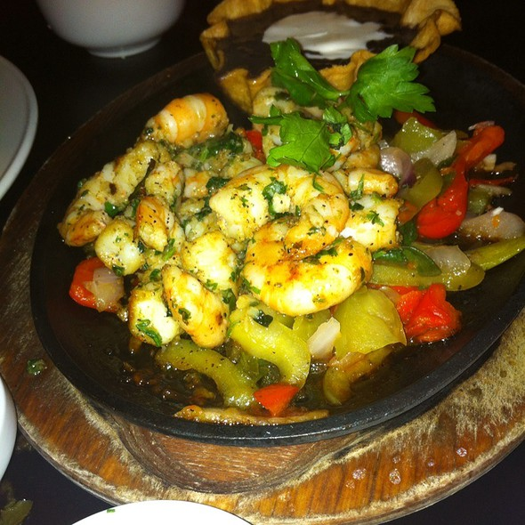 Shrimp Fajitas - Manuel's Great Hills, Austin, TX