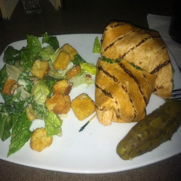 Turkey & Bacon Wrap - Twigs Bistro and Martini Bar - Spokane Valley Mall, Spokane Valley, WA
