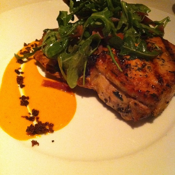 Pork Chop With Tortilla - The Stained Glass, Evanston, IL