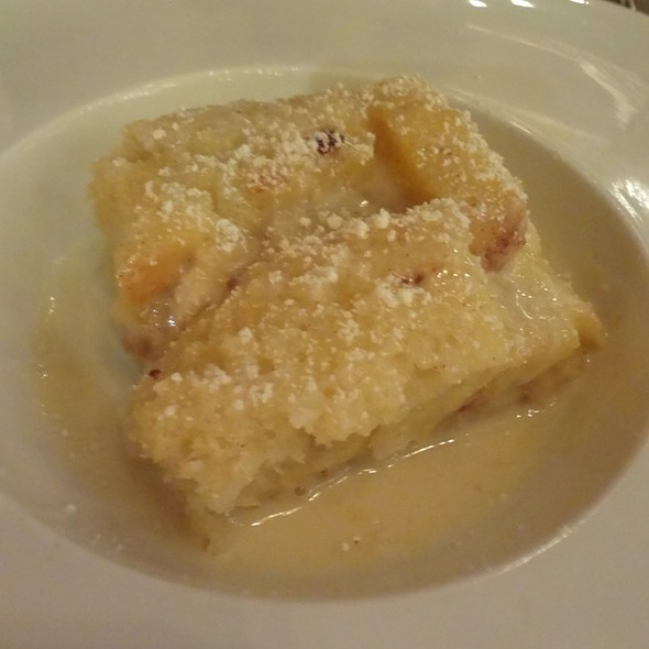 Apple Brioche Bread Pudding - Wilshire Restaurant, Santa Monica, CA