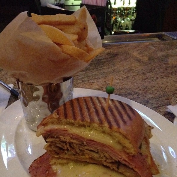Cubano Sandwich - Kelsey's at Pechanga Resort & Casino, Temecula, CA