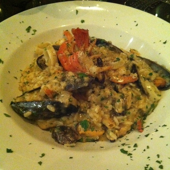 Mixed Seafood Risotto - Stef's Italian, London