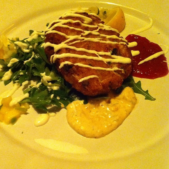 Crab Cakes - Post Oak Grill, Houston, TX