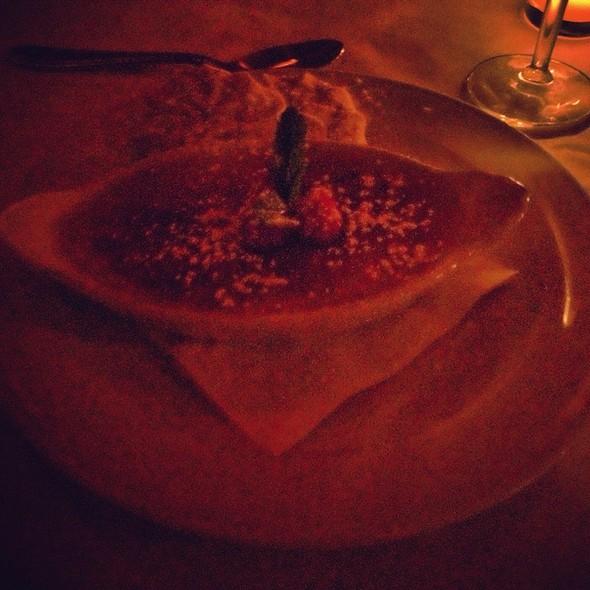 Lavender Creme Brulee - Café Absinthe, Chicago, IL