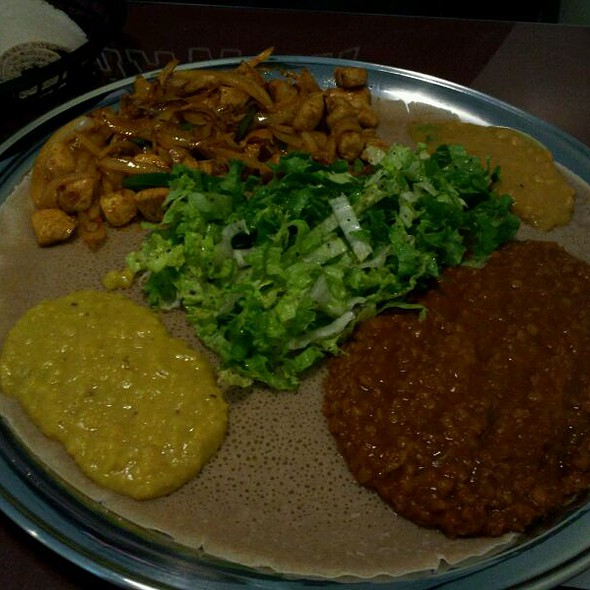 Ethiopian Restaurant Knoxville Menu