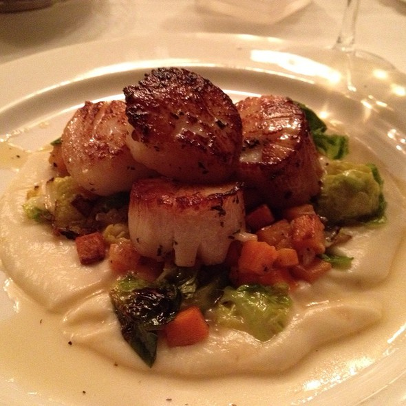 Pan Seared Georges Bank Scallops - Waterman Grille, Providence, RI