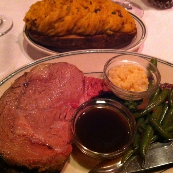 Prime Rib Del Mar Cut - Red Tracton's, Solana Beach, CA