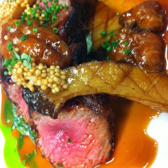 Aged Ny Steak, Veal Sweetbread, Mushroom - Michael's, New York, NY