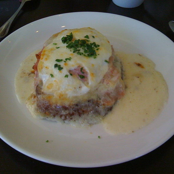 Croque Madame - Stephi's On Tremont, Boston, MA