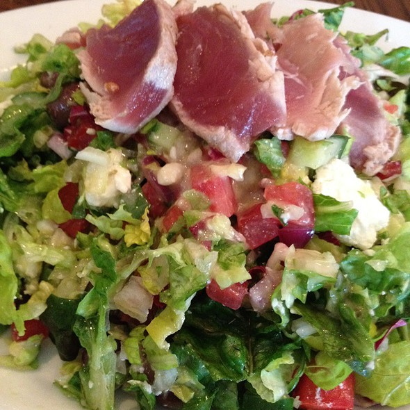 Greek Salad W Tuna - Henry's, Delray Beach, FL