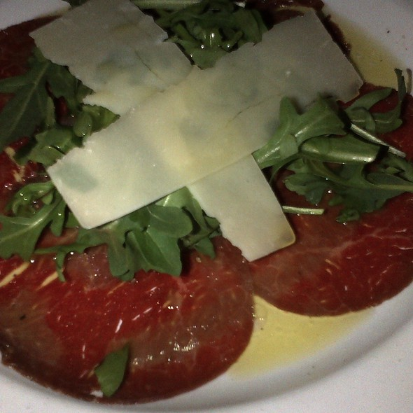 Beef Carpaccio - Caffe Roma, Beverly Hills, CA