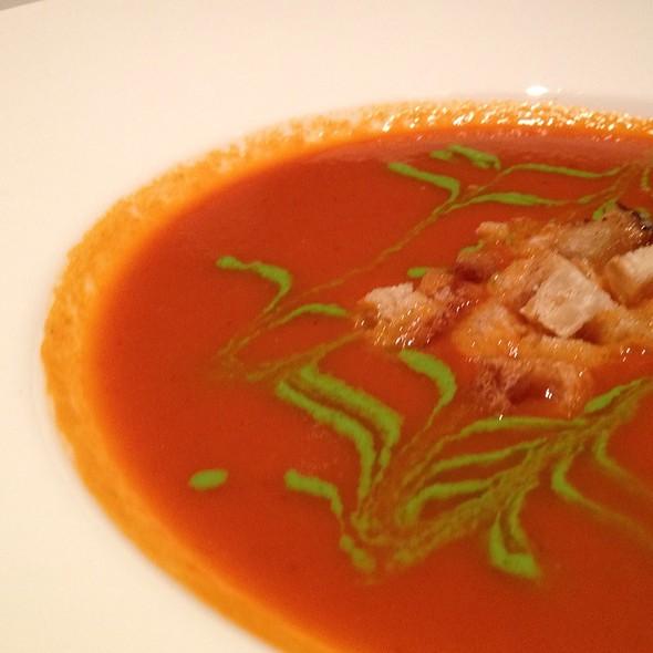 Tomato Chipotle Soup - Jasper's - Plano, Plano, TX