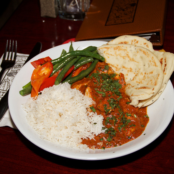 Butter Chicken - Steamworks Gastown, Vancouver, BC