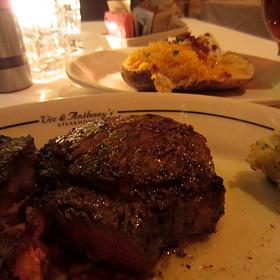 Baked Potato - Vic & Anthony's Steakhouse - Houston, Houston, TX