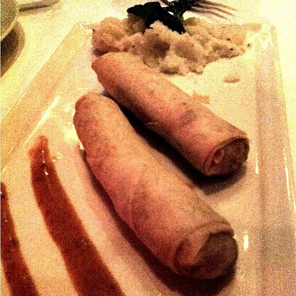 Peri Peri Chicken Spring Rolls - 10 Degrees South, Atlanta, GA