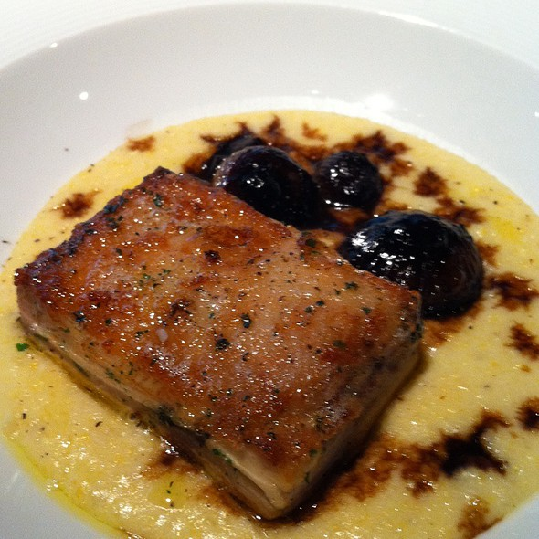 Chicken With Polenta And Cippolini - Lincoln Ristorante, New York, NY