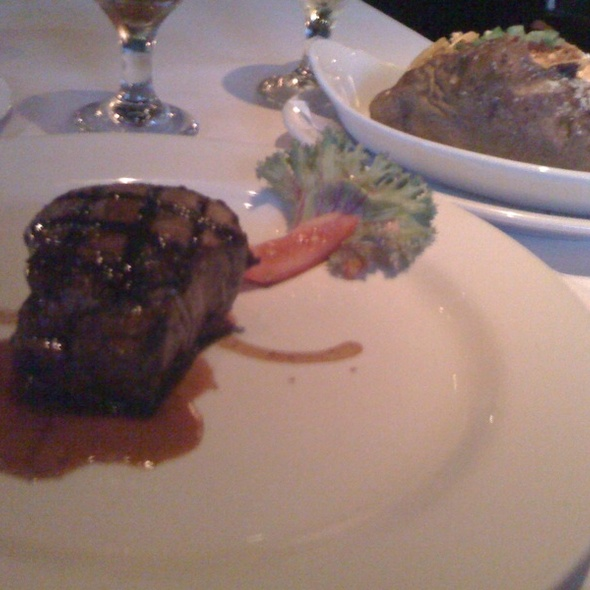 Filet Mignon - Mercury Chophouse, Fort Worth, TX
