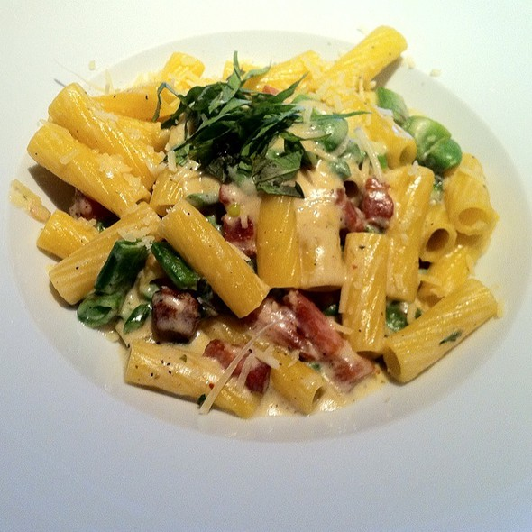 Pancetta & Asparagus Rigatoni - Taste on Melrose, West Hollywood, CA