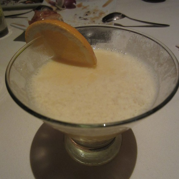 Orange Dreamsicle Martini - Uni Sushi, The Woodlands, TX