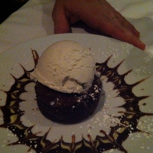Chocolate Truffle Cake - Splash Seafood Bar and Grill, Des Moines, IA