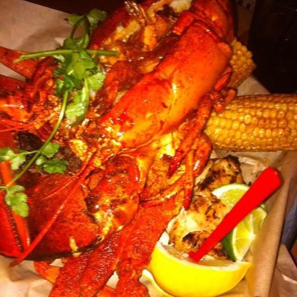 Golden Sombrero Bucket - Rockin Baja Lobster Oceanside, Oceanside, CA