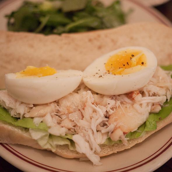 Dungeness Crab Louis Sandwich - Presidio Social Club, San Francisco, CA
