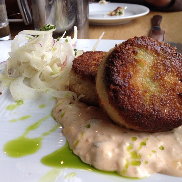 Crab Cakes - Purple Cafe and Wine Bar - Bellevue, Bellevue, WA