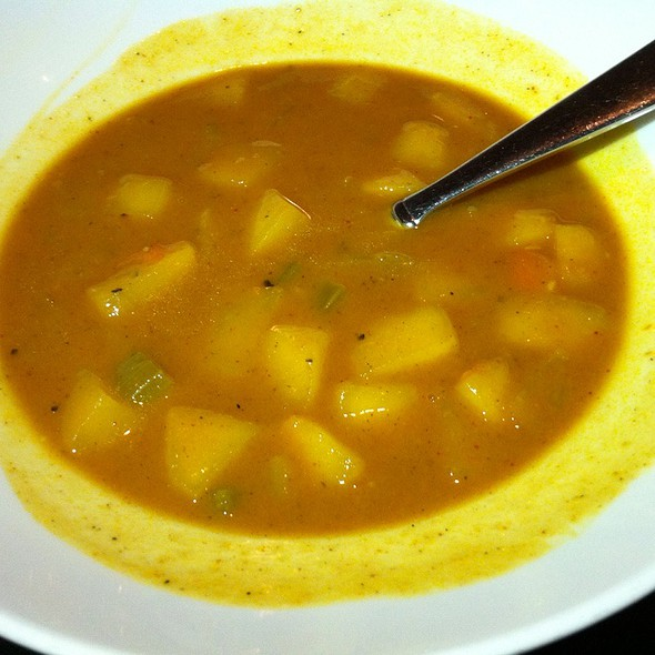 Apple Curry Soup - Gaslight Grill, Leawood, KS
