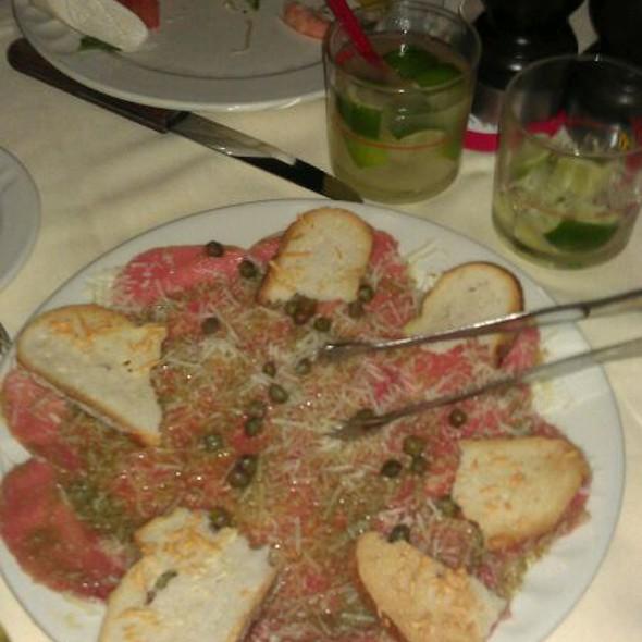 Beef Carpaccio - Churrascaria Plataforma Brazilian Steakhouse, New York, NY