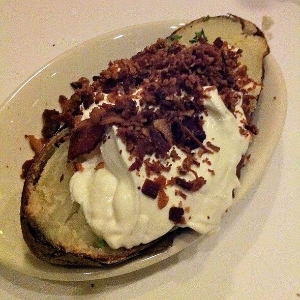Jumbo Baked Idaho Potato - Morton's The Steakhouse - San Jose, San Jose, CA