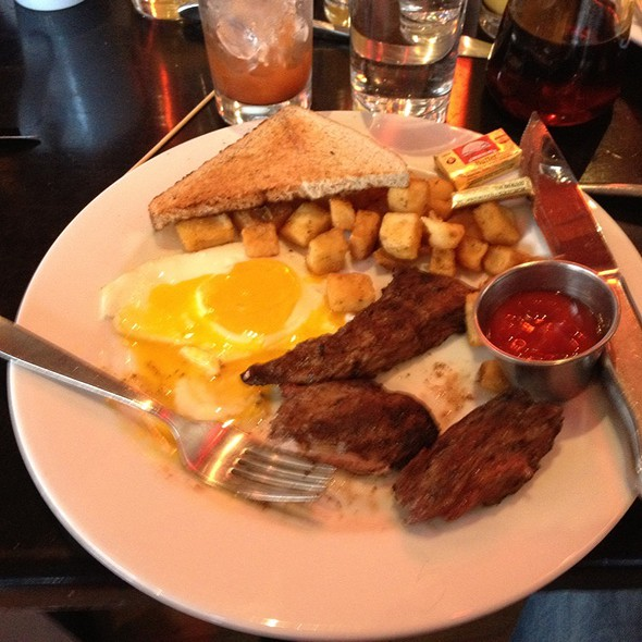 Steak and Eggs - West End Johnnie's, Boston, MA