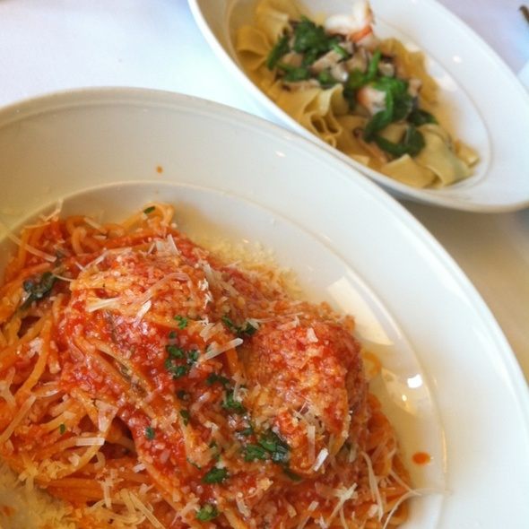Spagetti With Meatballs - Divino, Belmont, CA
