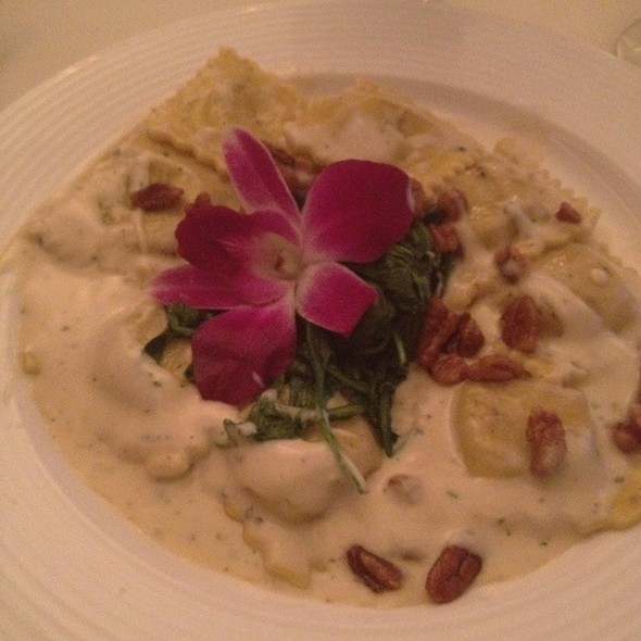 Roasted Butternut Squash Ravioli - Prime at Saratoga National, Saratoga Springs, NY