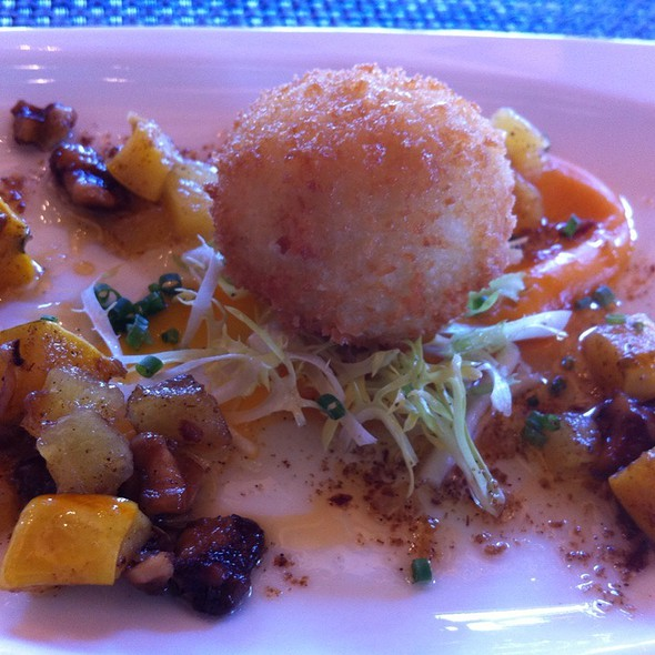 Herbed Goat Cheese Croquette - St. Francis Winery & Vineyards, Santa Rosa, CA