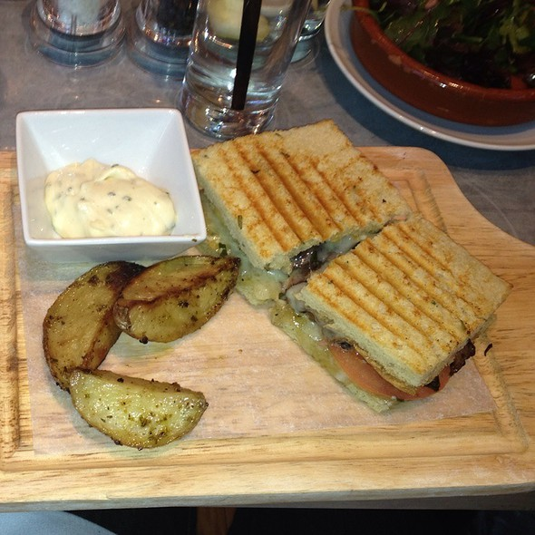 New York Filet Panini - FIG & OLIVE Meatpacking, New York, NY