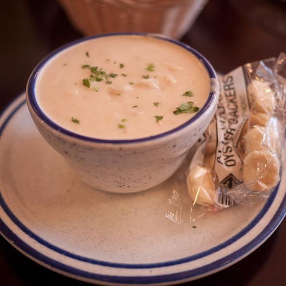 New England Clam Chowder - Billy's Boston Chowder House, Los Gatos, CA