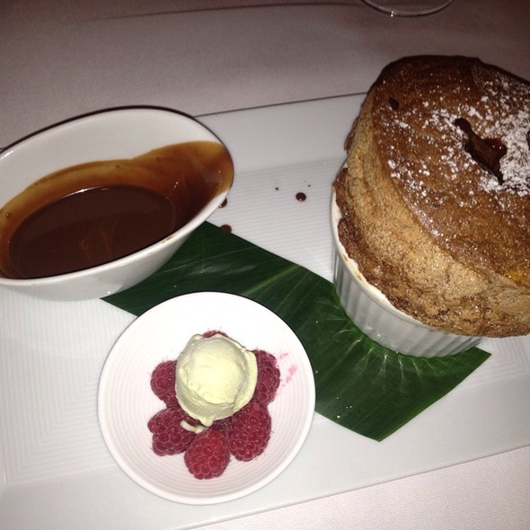 Chocolate Souffle - La Mer at Halekulani, Honolulu, HI