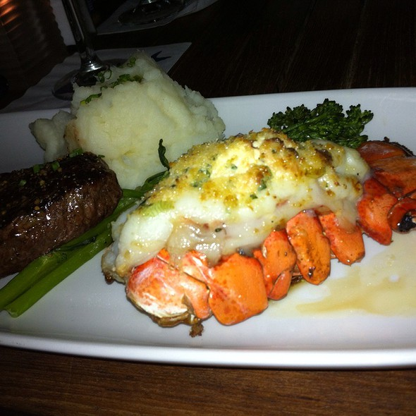 Steak and Lobster Tail - The Boathouse at Kits Beach, Vancouver, BC