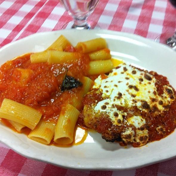 Veal Parmagiana - La Mela, New York, NY