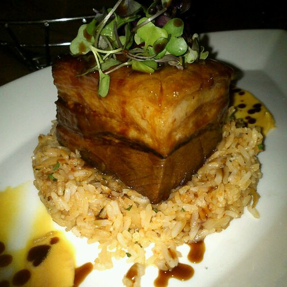 Braised Pork Belly - The Barrymore - Inside Royal Resort Las Vegas, Las Vegas, NV