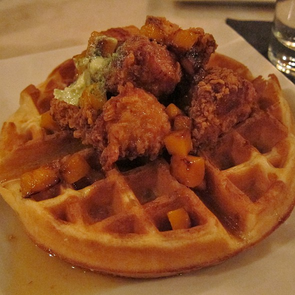 Chicken & Waffles - Wood & Vine, Hollywood, CA