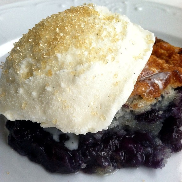 Blueberry Cobbler - The Farmhouse, Palmetto, GA