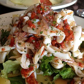 Calamari Salad - Fellini Cafe: Newtown Square, Newtown Square, PA