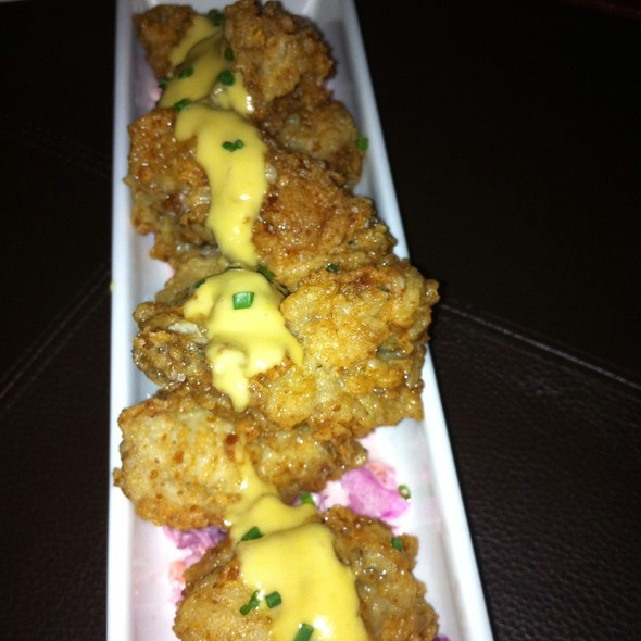 Crispy Oysters - Mockingbird Bistro, Houston, TX
