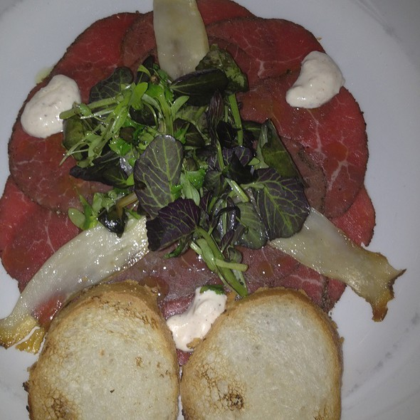 Beef Carpaccio - Cobalt Restaurant and Lounge - Vero Beach Hotel and Spa, Vero Beach, FL