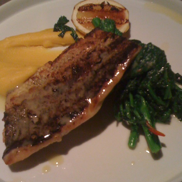 GRILLED STRIPED BASS - Fish Tag, New York, NY
