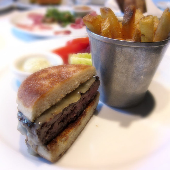 burger and fries - Spruce, San Francisco, CA