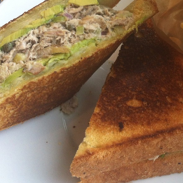 Fresh Tuna And Avacado Melt - Oystercatchers, Tampa, FL